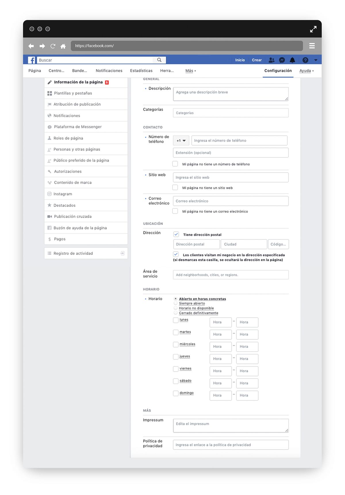 Llena-informacion-de-la-pagina-de-negocios-de-facebook-descripcion-categoria-numero-de-telefono-sitio-web-correo-electronico-area-de-servicio-horario-de-actividad