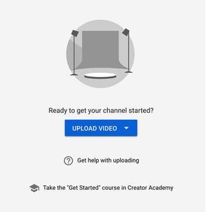 Subir un video YouTube